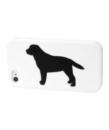 White Labrador Retriever Case for iPhone 4/4S