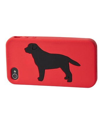 Red Labrador Retriever Case for iPhone 4/4S