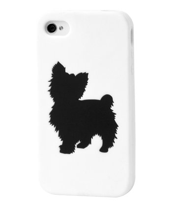 White Yorkshire Terrier Case for iPhone 4/4S