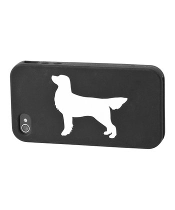 Black Golden Retriever Case for iPhone 4/4S