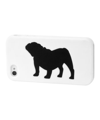 White Bulldog Case for iPhone 4/4S