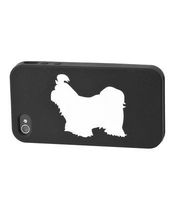 Black Shih Tzu Case for iPhone 4/4S