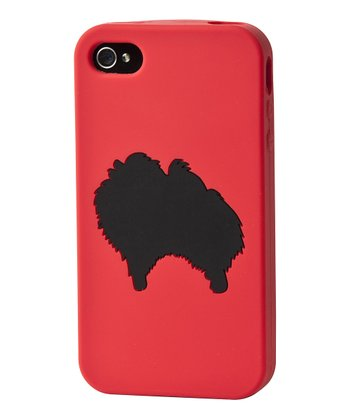 Red Pomeranian Case for iPhone 4/4S