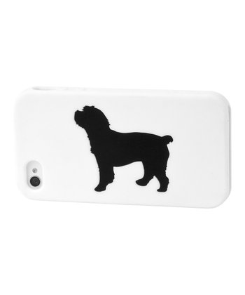 White Cockapoo Case for iPhone 4/4S
