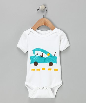 Vintage Car Organic Bodysuit - Infant