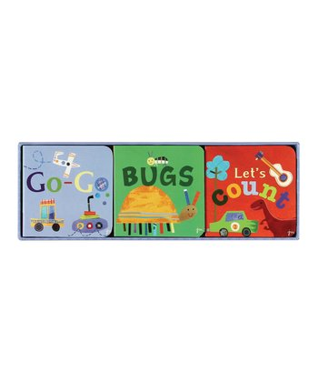 Go-Go, Bugs & Let's Count Board Books