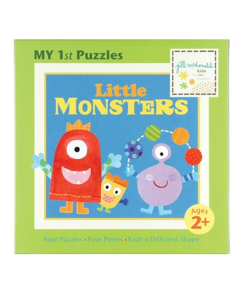Little Monsters First Puzzle Set