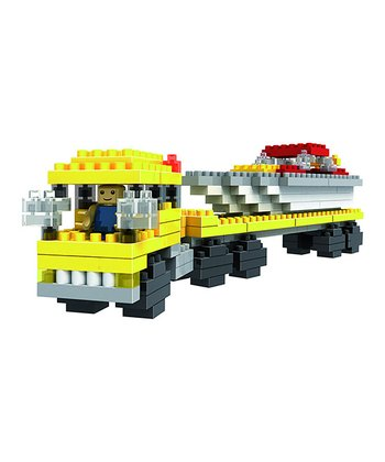 Power Boat Transporter Microblocks Set