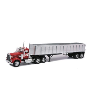 Kenworth W900 Dump Trailer Set