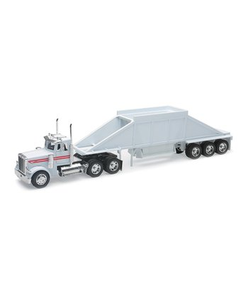 Peterbilt 379 Belly Dump Trailer Set
