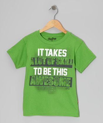 Acid Green 'A Lot of Skill' Tee