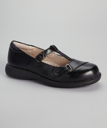 Black Girl Scout T-Strap Shoe