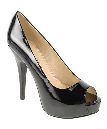 Black Patent Hotness Pump