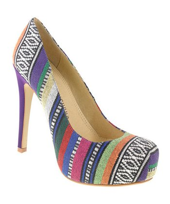 Purple Tribal Whistle Pump