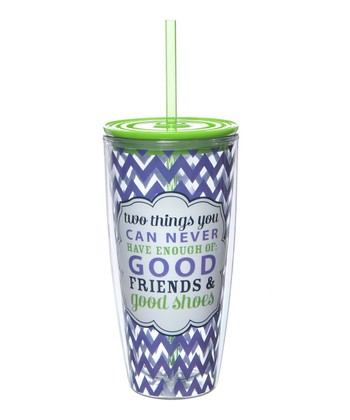 'Two Things' Pop 22-Oz. Travel Tumbler