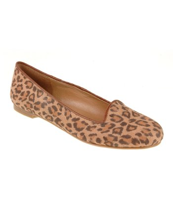 Tan Leopard Game Face Loafer