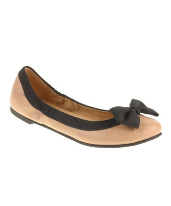 Nude & Black Good Chance Flat