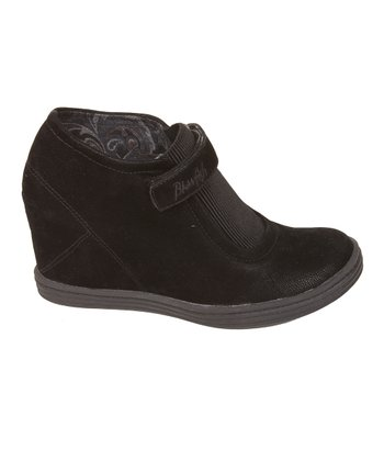 Black Fawn Taya Wedge Bootie