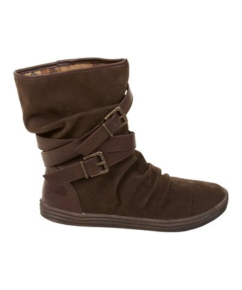 Dark Brown Fawn & Old Saddle Rona Boot