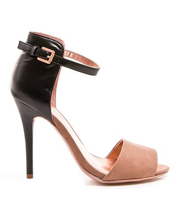 Black & Tan Calantha 01 Sandal
