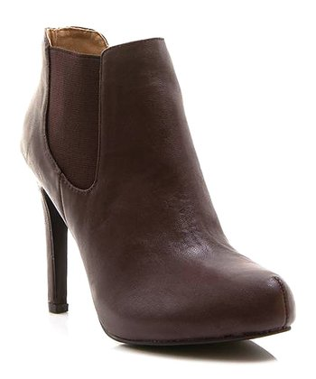 Dark Brown Prom Night 04 Bootie