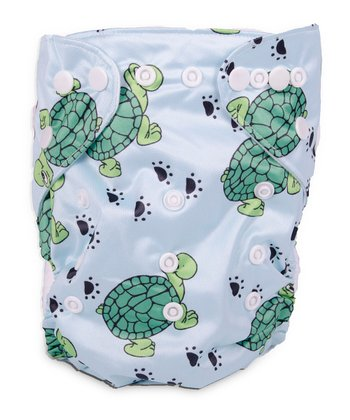 Turtle Tracks Double-Gusset Pocket Diaper