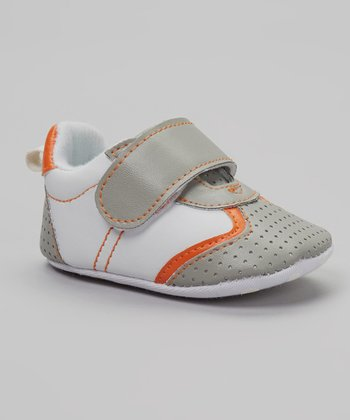 So Dorable Gray & Orange Sneaker