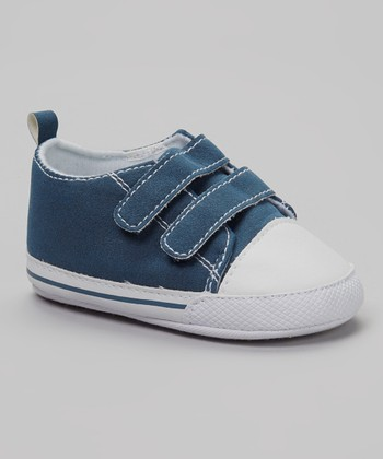 So Dorable Navy & White Sneaker
