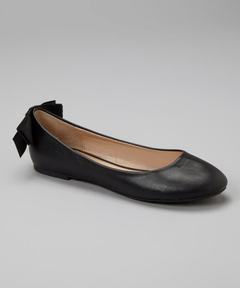 Black Bow Zaire Flat