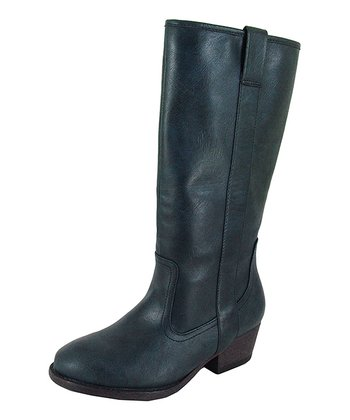 Blue Trevor Riding Boot