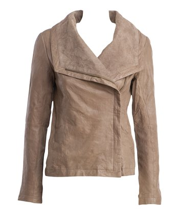 Mushroom Woodgate Merino Wool Jacket - Women