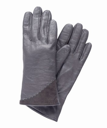 Charcoal Wattle Hill Glove - Women