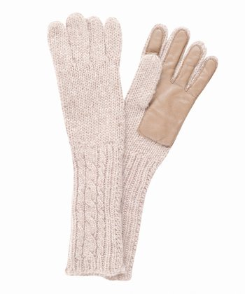 Sand Cape Conran Merino Wool Gloves - Women