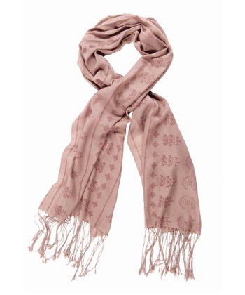 Mushroom Fainters Fall Merino Wool Scarf - Women