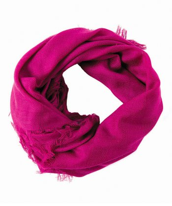 Boysenberry Walwa Merino Wool Scarf - Women