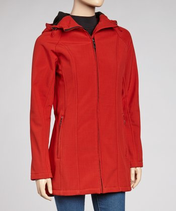 Red Bonding Jacket - Women