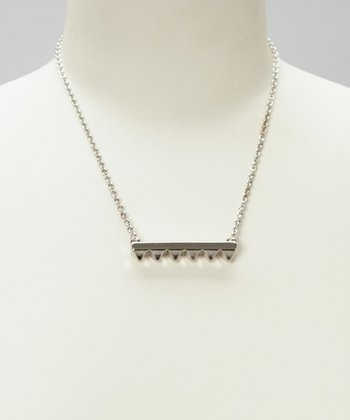 Silver Mia Pendant Necklace