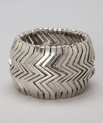 Silver Morgan Stretch Bracelet