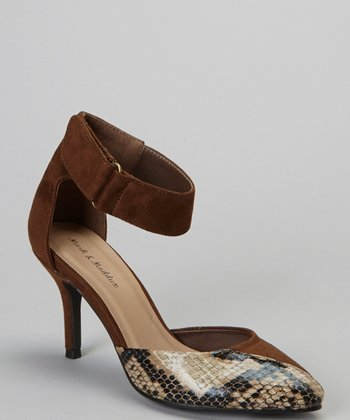 Brown Snake Alan Pump