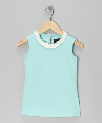 Mint Bertoia Top - Infant, Toddler & Girls
