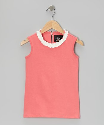 Coral Bertoia Top - Infant, Toddler & Girls