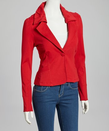 Red Idonia Jacket - Women & Plus