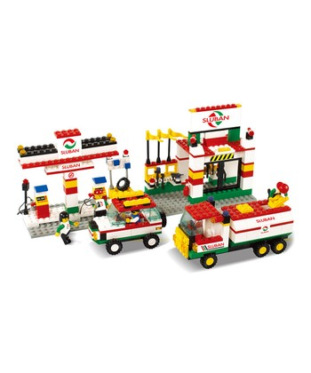 Gas Station Block Set