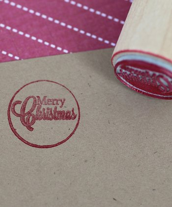 'Merry Christmas' Mini Stamp