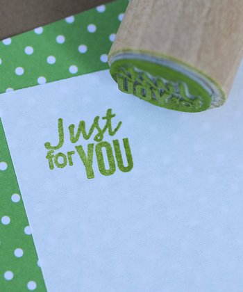 'Just For You' Mini Stamp
