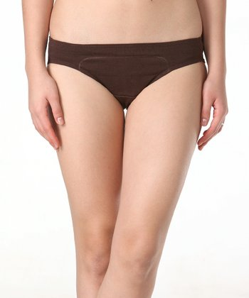 Brown Hipster Period Panty