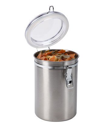 63-Oz. Round Clamp-Top Canister