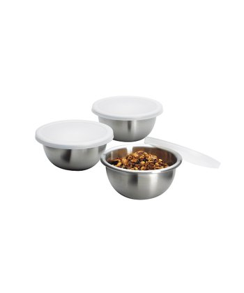 Covered Pinch Bowl - Set of Three