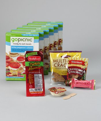 Turkey Pepperoni & Cheese Gluten-Free Meal - Set of Six