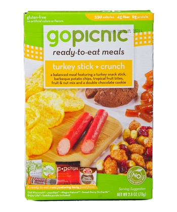 Turkey Stick & Crunch Gluten-Free Meal - Set of Six